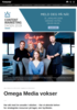 Omega Media vokser
