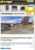 Omfattende oppgradering av gate i Kongsvinger