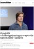 Omstridt «Folkeopplysningen»-episode tapte Emmy-kampen