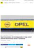 Opel - utslippsjuks - diesel Opel mistenkes for utslippsjuks. I dag raidet politiet kontorene deres i Tyskland