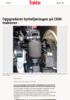 Oppgraderer hyttefjæringen på CHN-traktorer