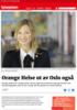 Orange Helse ut av Oslo også