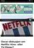 Oscar-diskusjon om Netflix: Kino- eller TV-filmer?