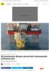 Oseberg Vestflanken 2 Nå produserer Norges første helt ubemannede plattform olje