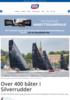 Over 400 båter i Silverrudder