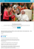 Paven: Bedre å være ateist enn hyklersk kristen