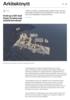 Peab og AART skal forme Tromsø som arktisk hovedstad