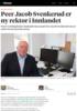 Peer Jacob Svenkerud er ny rektor i Innlandet
