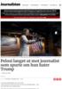 Pelosi langet ut mot journalist som spurte om hun hater Trump