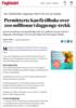 Permitterte kan få tilbake over 200 millionar i dagpenge-trekk