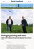 Planlegger grasavlinga med drone