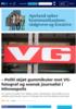 - Politi skjøt gummikuler mot VG-fotograf og svensk journalist i Minneapolis
