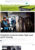 Politifolk inviterte Hadia Tajik med på IP-trening