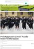 Politihøgskolen avlyser fysiske tester i årets opptak