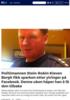 Politimannen Stein-Robin Kleven Bergh fikk sparken etter ytringer på Facebook. Denne uken håper han å få den tilbake