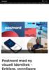 Postnord med ny visuell identitet: - Enklere, vennligere og mer fremoverlent