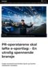 PR-operatørene skal løfte e-sportlag: - En utrolig spennende bransje