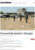 Pressefolk løslatt i Etiopia