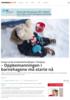 Presser på før budsjettbehandlingen i Tønsberg: - Oppbemanningen i barnehagene må starte nå