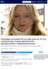 Prisbelønt journalist får ny jobb etter at TV 2 la ned kontoret: Connie Bentzrud blir gravejournalist i Fædrelandsvennen