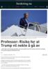 Professor: Risiko for at Trump vil nekte å gå av
