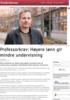 Professorkrav: Høyere lønn gir mindre undervisning
