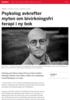 Psykolog avkrefter myten om bivirkningsfri terapi i ny bok