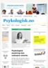 Psykologisk mestring kan reduseresmerte