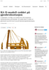 RA II-modell reddet på gjenbruksstasjon