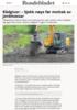 Rådgivar: - Sjekk nøye før mottak av jordmassar