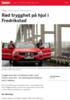 Rød trygghet på hjul i Fredrikstad