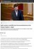 Rødt vurderer mistillit mot forsvarsministeren etter Bergen Engines-salget