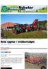 Real opptur i traktorsalget