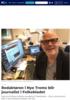 Redaktøren i Nye Troms blir journalist i Folkebladet