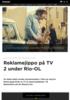 Reklamejippo på TV 2 under Rio-OL