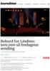 Rekord for Lindmo: 909.000 så fredagens sending