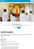Rekordfå velger kirkelig konfirmasjon