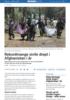 Rekordmange sivile drept i Afghanistan i år