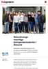 Rekordmange mannlige bioingeniørstudenter i Ålesund
