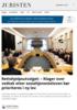 Rettshjelpsutvalget: - Klager over vedtak etter sosialtjenesteloven bør prioriteres i ny lov