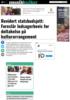 Revidert statsbudsjett: Foreslår ledsagerbevis for deltakelse på kulturarrangement