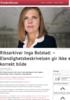 Riksarkivar Inga Bolstad: - Elendighetsbeskrivelsen gir ikke et korrekt bilde