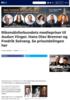 Riksmålsforbundets mediepriser til Audun Vinger, Hans Olav Brenner og Fredrik Solvang. Se prisutdelingen her