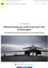 Ørland-bomberne sendt ut på nytt: Flyr til Østersjøen
