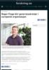 Roger Flage blir generalsekretær i europeisk organisasjon