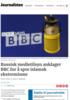 Russisk medietilsyn anklager BBC for å spre islamsk ekstremisme