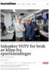 Saksøker VGTV for bruk av klipp fra sportssendinger