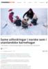 Same utfordringar i norske som i utanlandske barnehagar