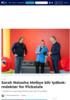 Sarah Natasha Melbye blir lydbok-redaktør for Pickatale