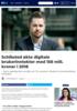 Schibsted økte digitale brukerinntekter med 158 mill. kroner i 2018